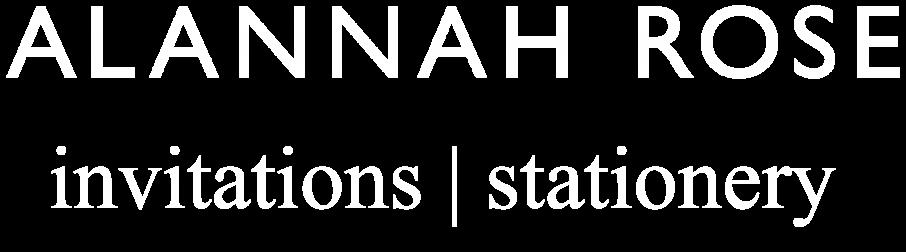 Alannah Rose Main Page Header