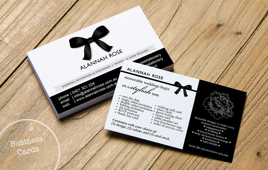 Business Cards are important!