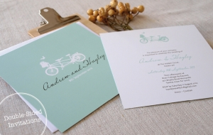 Double Sided Invitations