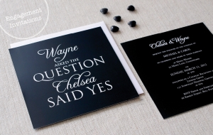 Engagement Invitations