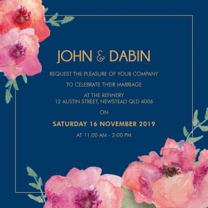 Floral Fancy Invitation
