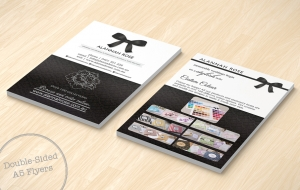Double-sided A5 Flyers