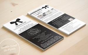 Double-sided DL Flyers