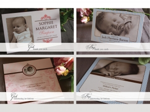 Invitation Sample Packs: Oh Baby Sample Pack