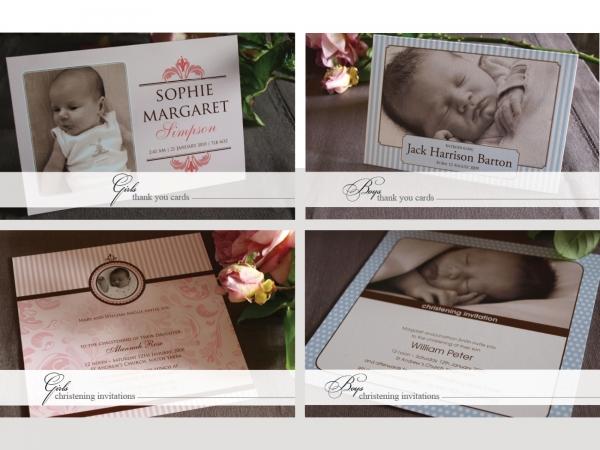 Invitation Sample Packs: Oh Baby Sample Pack