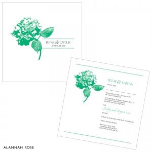 Product Image_Custom Hydrangea Happiness Invite