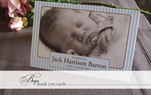 Boys Thank You Cards