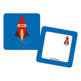 rocket party tags space theme party